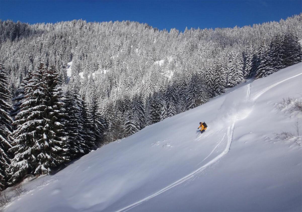 ski de randonnée dans la vallée de Morzine