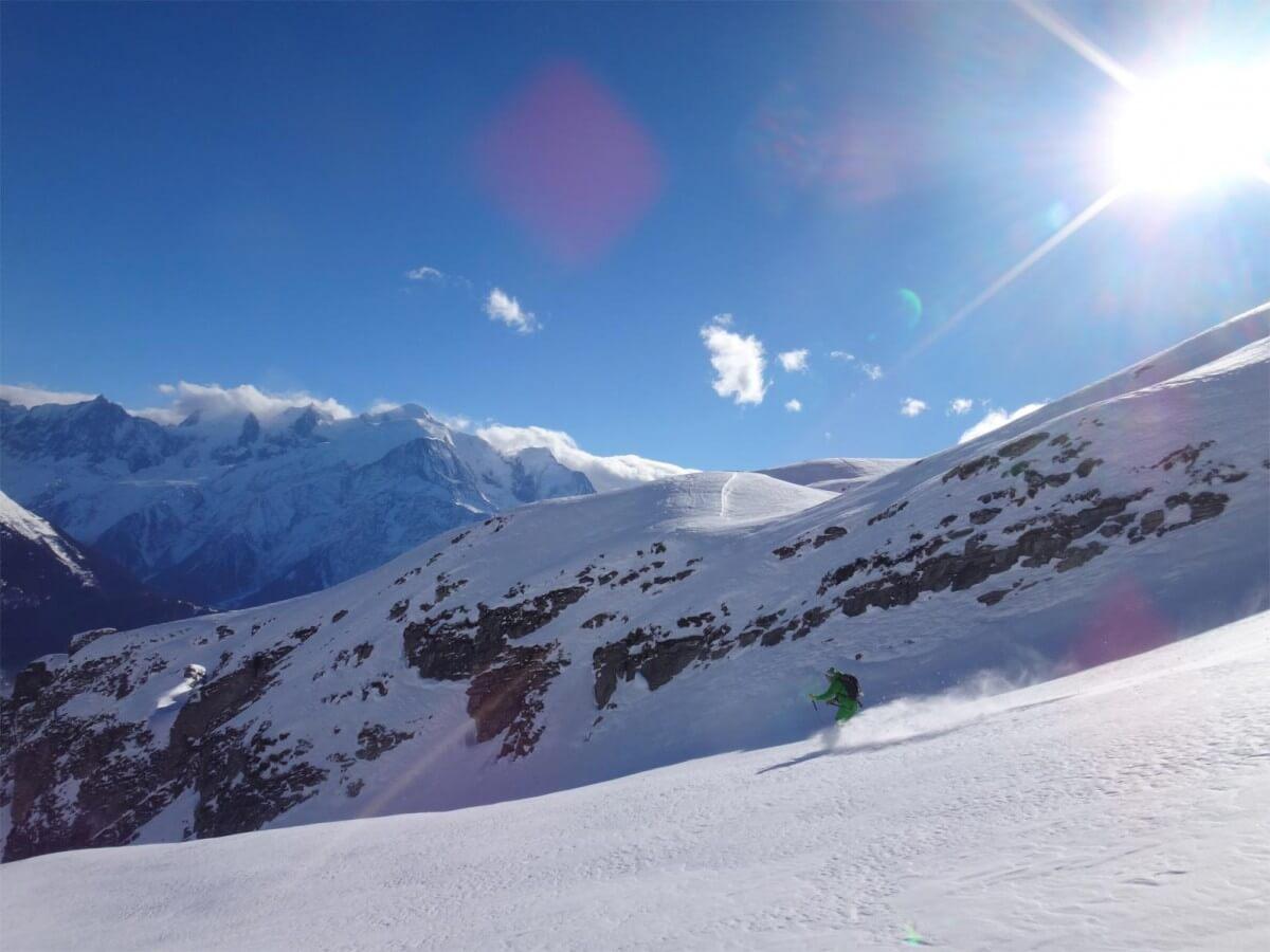 combe de Barmerousse, ski de randonnée